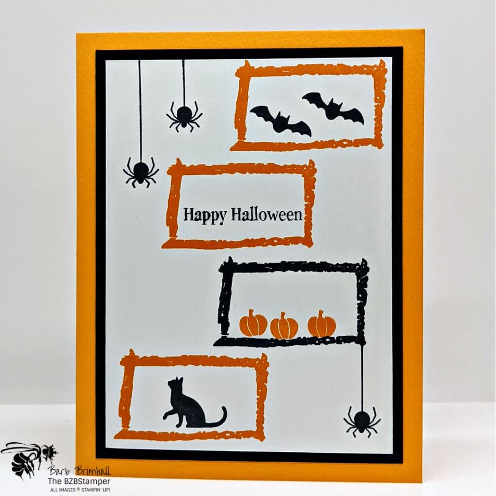Quick DIY Halloween Card