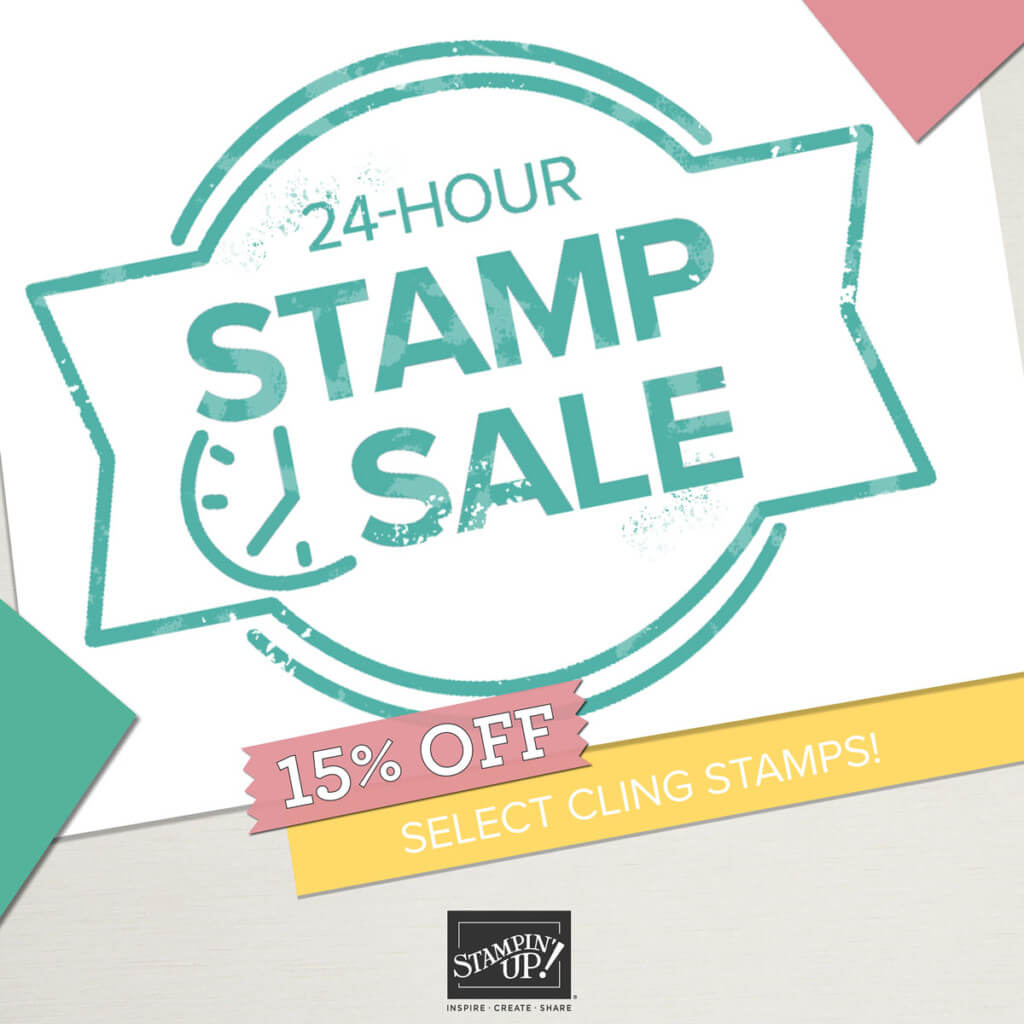One Day Stampin Up Flash Sale!